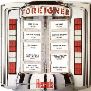 Foreigner ‎- Records (LP) (G/G-)